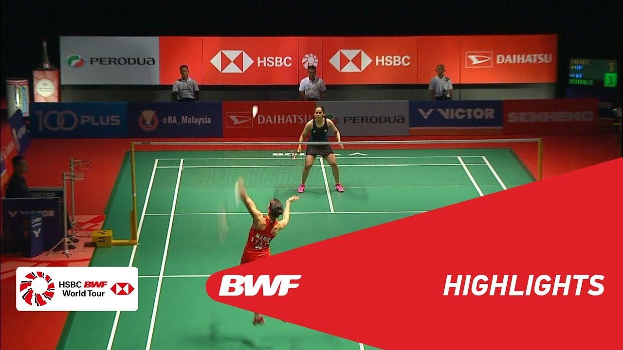 PERODUA Malaysia Masters 2019  WS - SF - HIGHLIGHTS  BWF