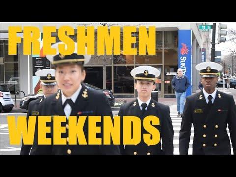 FRESHMAN WEEKENDS @ THE NAVAL ACADEMY