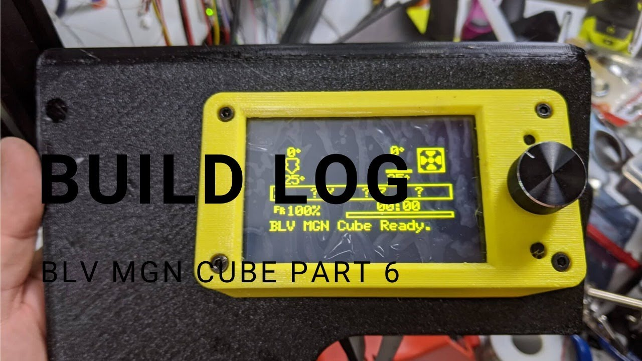BLV MGN Cube Build Part 6 (Front Panel)