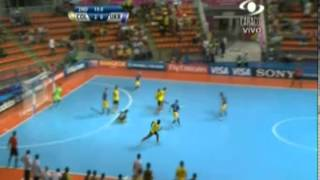 Colombia vs Ucrania [3-1]. Futsal World Cup. Cuartos de Final Mundial futbol de salon 14/11/2012