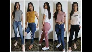 BACK TO SCHOOL TRY ON CLOTHING HAUL 2017- Nikki V.