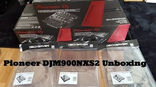 Pioneer DJM900NXS2 Unboxing & Decksaver Unboxing