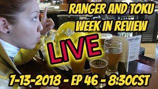 RANGER AND TOKU WEEK IN REVIEW LIVE | POWER RANGERS NEWS | KAMEN RIDER ZI-O | ULTRAMAN R/B | LUPIN