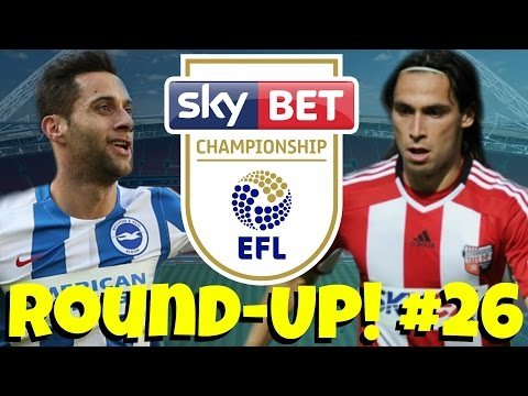The Championship Round-UP #26 LOCAL DERBIES, RELEGATION SCRAPS & GOALS! How Did Your Club Do!?