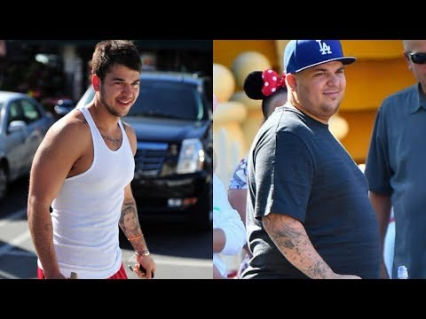 Rob Kardashian transformation from 1 to 30 years old