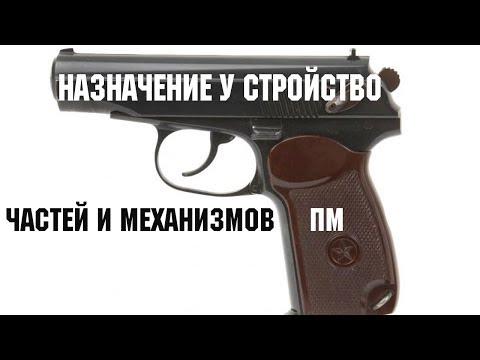 Назначение и устройство частей и механизмов пистолета Макарова.  Самое подробное видео.