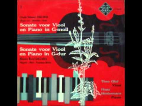 2/2 Hans Henkemans Theo Olof Ravel vioolsonate