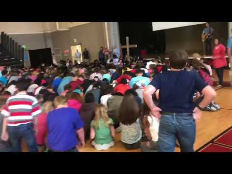 Appalling religious performance at public school assemblies