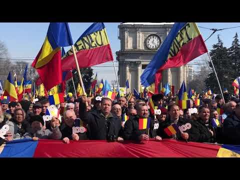 Desteapta te Romane! Chisinau- Marea Adunare Centenara 25 martie 2018
