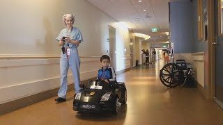 Hospital Kids Get to Drive Luxury Mini Cars to Procedures