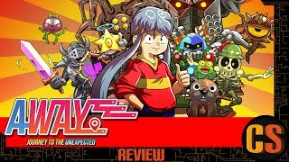 AWAY: JOURNEY TO THE UNEXPECTED - PS4 REVIEW (Video Game Video Review)
