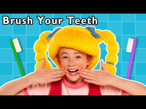 Brush Your Teeth and More | HEALTHY HABITS | Learn To Brush | Baby Songs from Mother Goose Club!