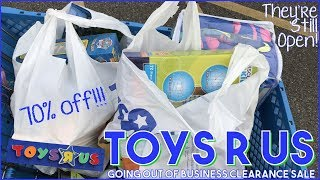 Toys R Us Clearance Shopping   Is Toys R Us Still Open? Yes!   Last Time Ever Going :