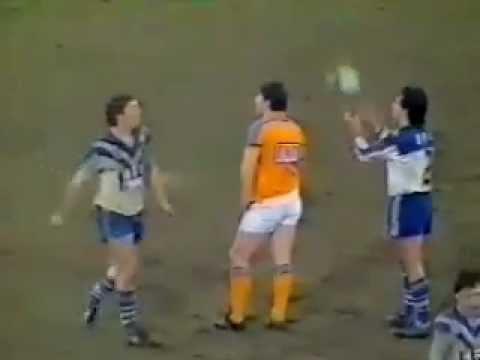 Terry Lamb milks penalty, Ron Gibbs sin binned 1985 Bulldogs v Roosters