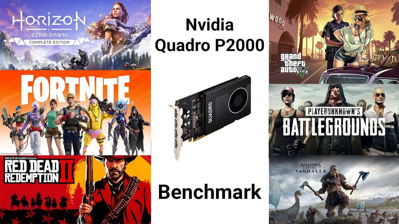 Nvidia Quadro P20 Benchmark 20