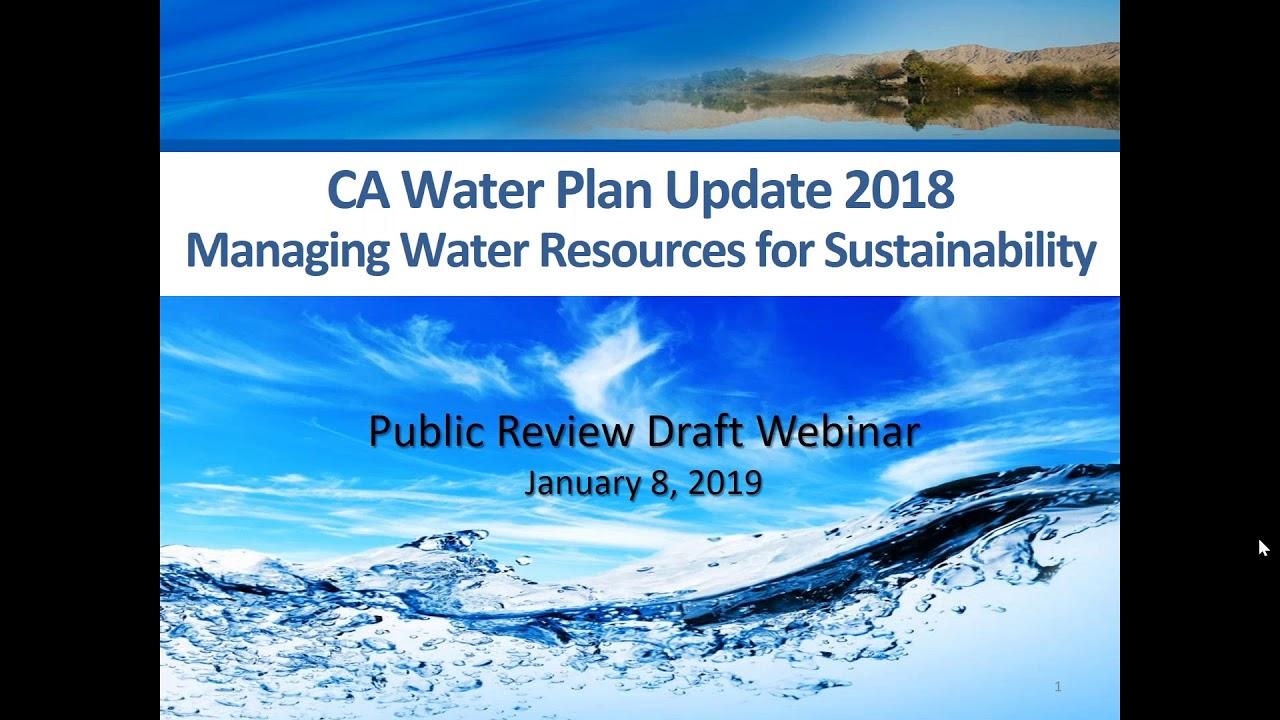 Brown and Caldwell's Award-Winning BC Water News: California — Jan