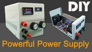 How To Make 1.2-24v   0-9a Power Supply Variable Voltage, Current. Diy Laboratory Adjustable Ps 120w