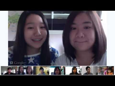 Google + Hangout with Ryan Higa in Asia!