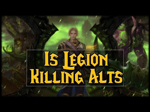 Is Legion The Alt Killer Expansion?!
