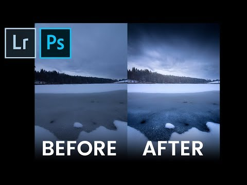 QE #41: Creating a dark winter landscape - full Lightroom Workflow