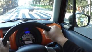 【SUZUKI HUSTLER】奈良市ドライブ【HX-A500】