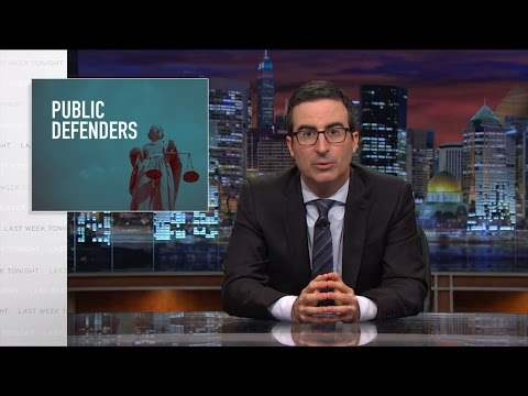 Last Week Tonight with John Oliver: Public Defenders