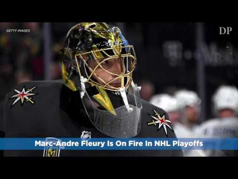 Marc-Andre Fleury Is On Fire In NHL Playoffs