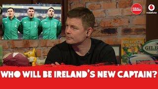 Brian O'Driscoll on the future Ireland captain -