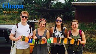 Adventures in Ghana: Week Two II  Waterfalls, Island Villages, Rastafari Brothers