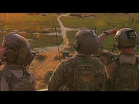 HELLFIRE missile ATTACK test & GATLING Gun LIVE FIRING! U.S. Army APACHES & USAF AC-130U in ACTION!