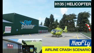 NeoFly | H135 Helicopter | Airline Crash Scenario | Yorkshire Air Ambulance | MSFS2020 | HEMS | 0.91