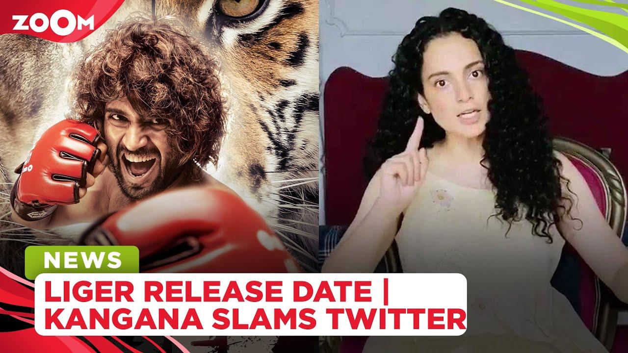 Karan Johar announces Liger's release date | Kangana Ranaut slams Twitter, promotes homegrown app
