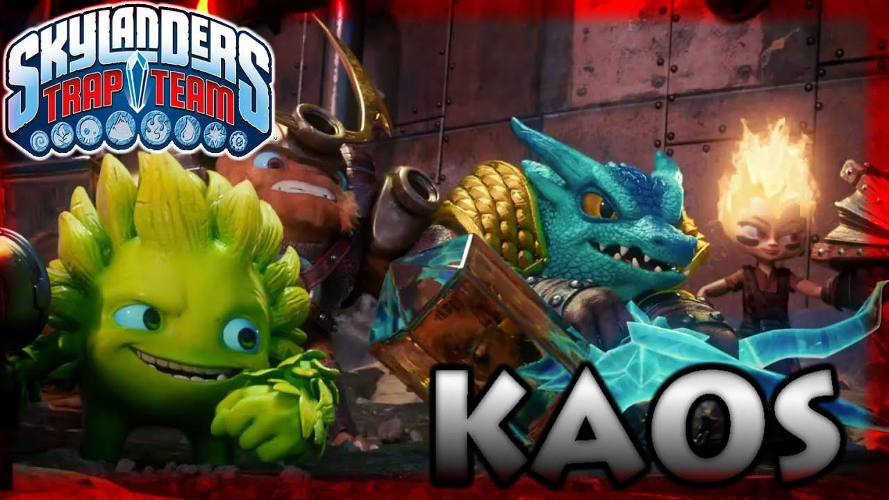Skylanders Trap Team: Kaos Boss Fight (Pokémon Music ...