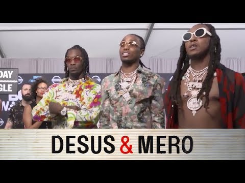 Migos and Joe Budden at the BET Awards
