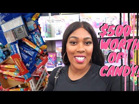 WALMART SECRET CLEARANCE! $500 Worth of candy!!