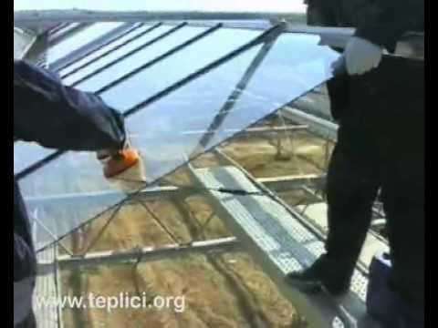 Монтаж алюминиевых конструкций и остекление