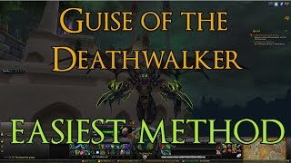 Havoc Demon Hunter Hidden Artifact - Guise of the Deathwalker - Easiest Method!