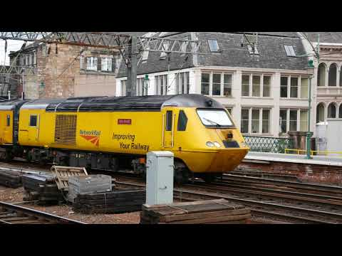 43062 And 43013 With Network Rail Flying Banana / Glasgow Central 17/7/2018