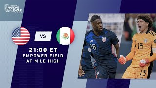 2021 CNL Finals   United States vs Mexico