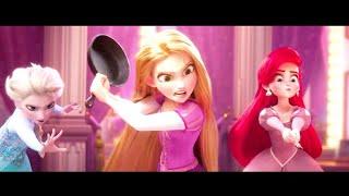 Ральф против Интернета Принцессы на русском. Ralph breaks the Internet Disney princesses (Russian)