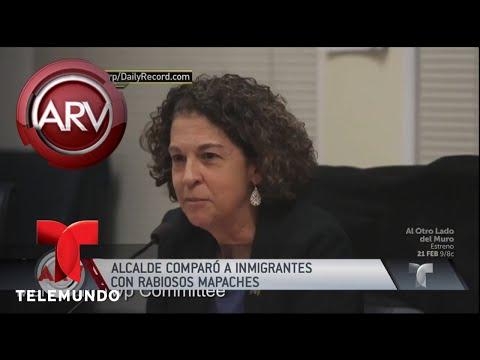 Vice alcalde compara inmigrantes con mapaches rabiosos | Al Rojo Vivo | Telemundo