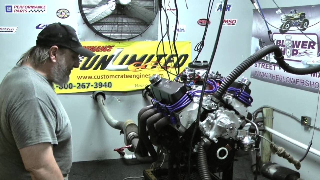 347 302 Based Stroker Crate Engine 425HP