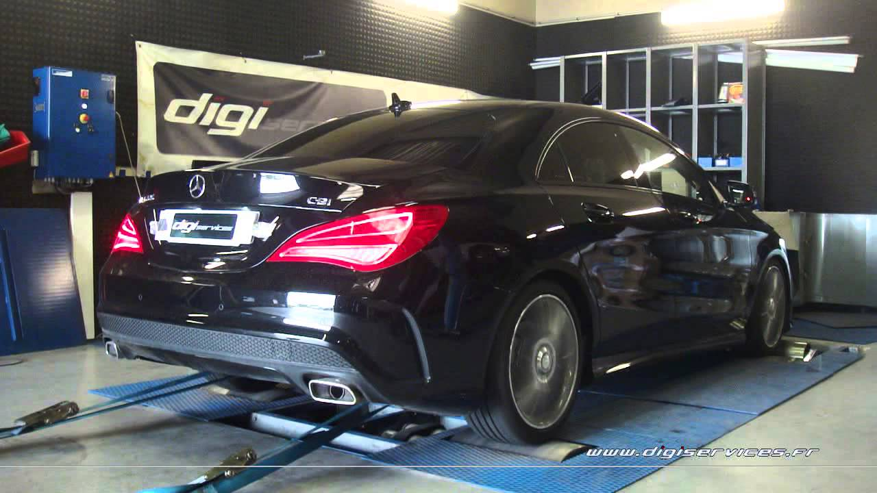 reprogrammation moteur mercedes cla 220 cdi 170cv 197cv dyno digiservices paris youtube. Black Bedroom Furniture Sets. Home Design Ideas