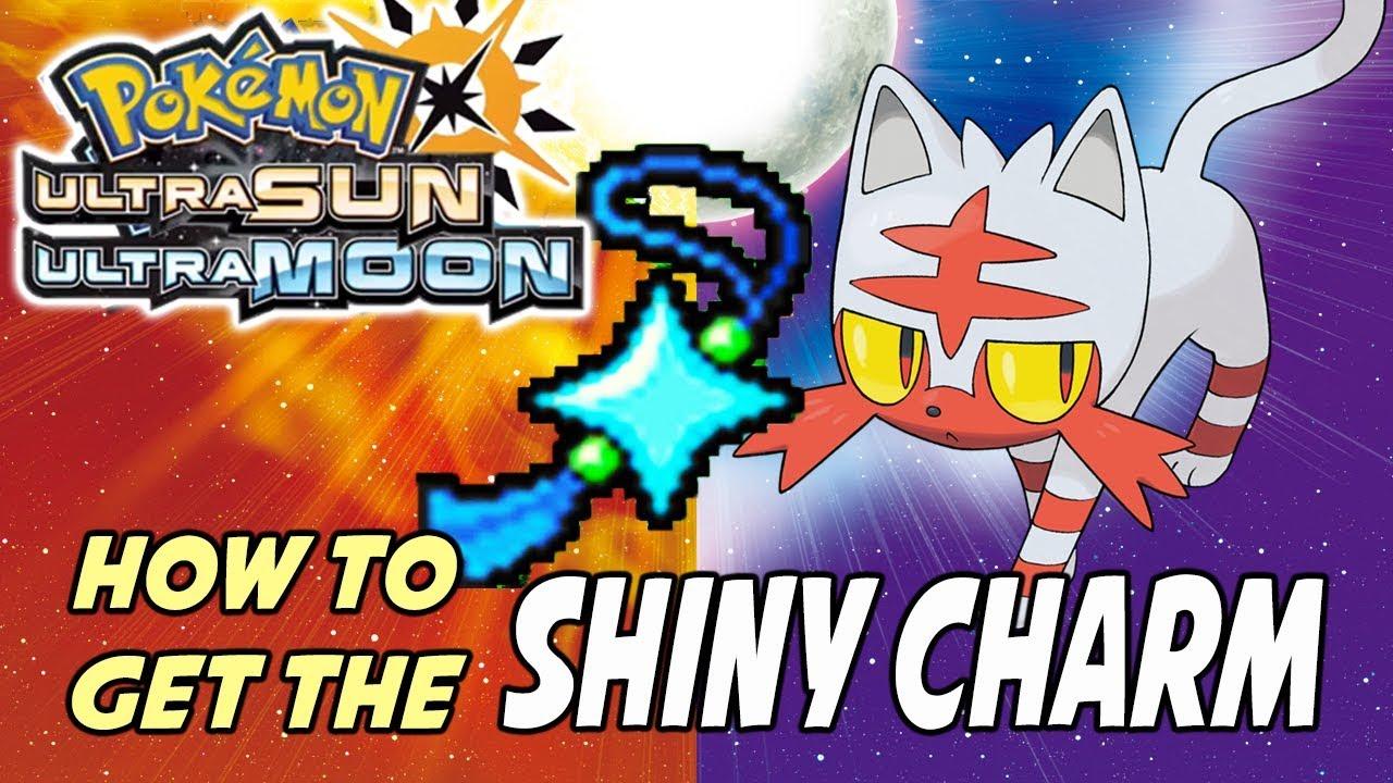 Shiny Charm cheats for Pokemon Moon on 3DS