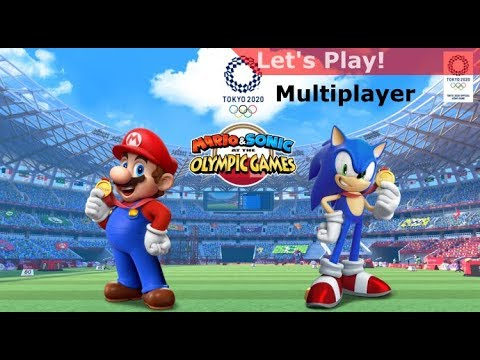Let's Play: Mario & Sonic At The Olympic Games Tokyo 2020 - Two-Player, Many Events