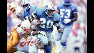 Barry Sanders Longest Career Runs