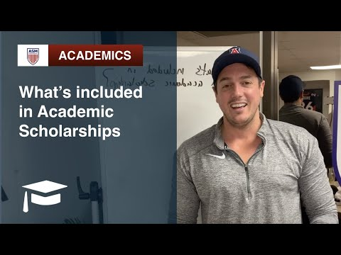 ASM Academics | What's Included In Academic Scholarships