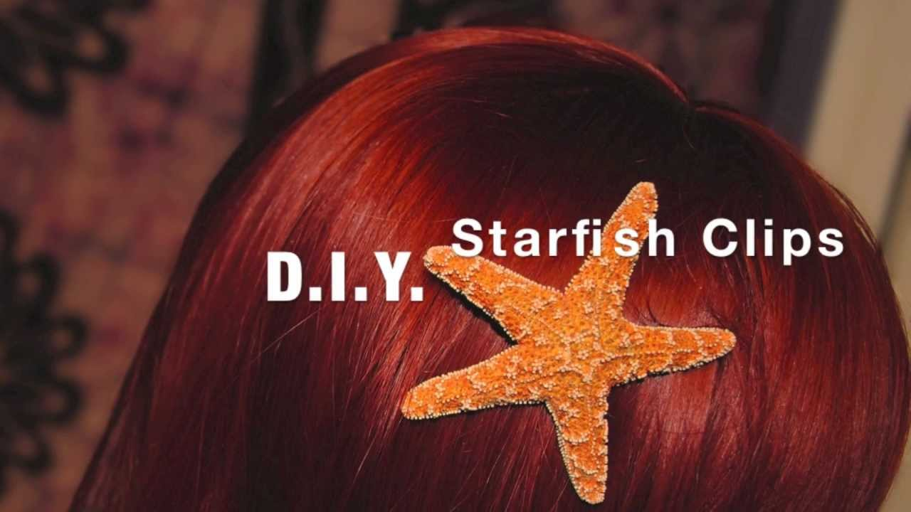 d i y starfish hair