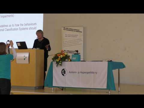Judith Gould: The Diagnosis Of Women And Girls On The Autism Spectrum
