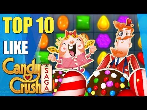 Top 10 awesome games like Candy Crush Saga